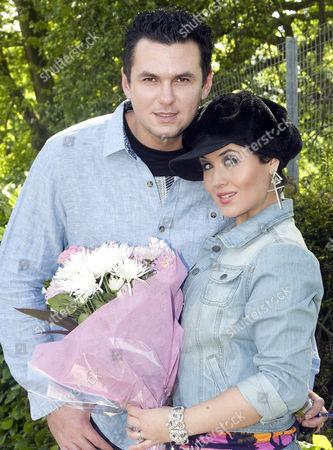 Moniqe Foxx with husband Matt Fiddes