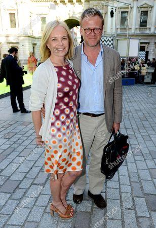 Stock Photo of Mariella Frostrup and Jason McCue