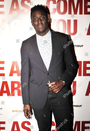 Stock Picture of Andy Akinwolere