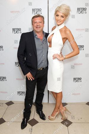 Mark Fuller and Holly Croft