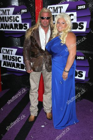 Stock Picture of Duane Lee Chapman and wife Beth