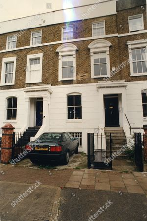 Andrew Gifford Political Lobbyist And Former Adviser To David Steel Of The Liberal Party. Pictured Is His Home In Fentiman Road London.