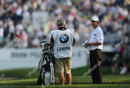 Peter Lawrie Bmw Golf Wentworth. 24 May 2012.