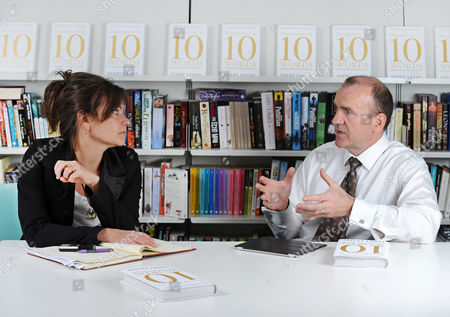 Daily Mail Journalist Jane Fryer Interviews Sir Terry Leahy Former Ceo Of Tesco About His Book 'management In 10 Words' Which Is Out Next Month.