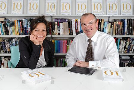 Daily Mail Journalist Jane Fryer With Sir Terry Leahy Former Ceo Of Tesco Whose Book 'management In 10 Words' Is Out Next Month.
