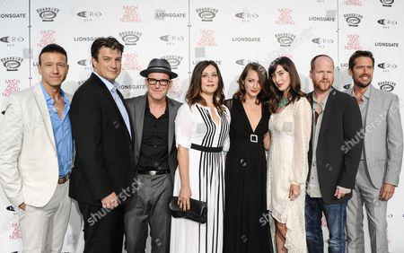 Joshua Zar, Emma Bates, Nathan Fillion, Clark Gregg, Amy Acker, Alexis Denisof, Joss Whedon, Jillian Morgese