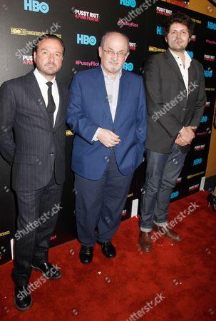 Mike Lerner, Salman Rushdie and Maxim Pozdorovkin
