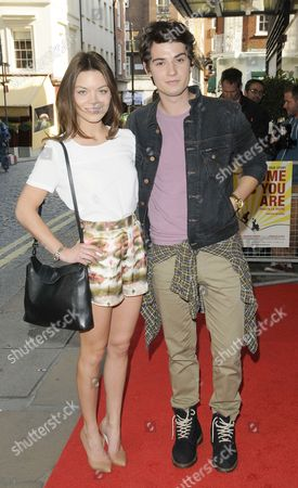 Scarlett Byrne and Jack Brett Anderson