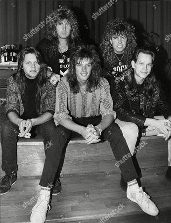Europe - Mic Michaeli, Kee Marcelo, John Leven, Joey Tempest and Ian Haugland