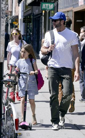 Ava Eliot Jackman and Hugh Jackman