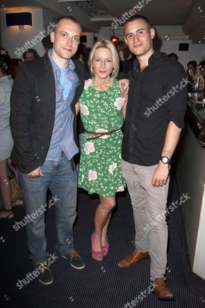 Stock Photo of William Troughton (Danny), Lisa Dillon (Pru) and Joel Samuels (Lyle)