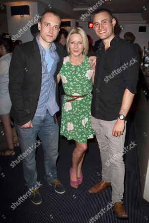 William Troughton (Danny), Lisa Dillon (Pru) and Joel Samuels (Lyle)
