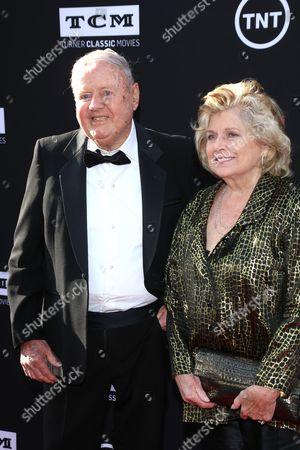 Stock Photo of Dick Van Patten and wife Pat Van Patten