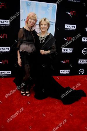 Cloris Leachman and daughter Dinah Englund