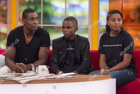 Editorial photo of 'Daybreak' TV Programme, London, Britain. - 07 Jun 2013