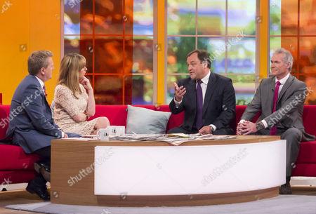 Aled Jones and Kate Garraway with Robert Jobson and Dr Hilary Jones