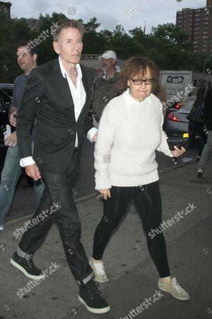 Calvin Klein and Ingrid Sischy