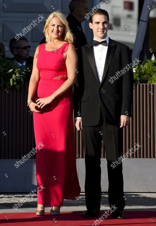 Princess Theodora of Greece and Denmark of Greece and Prince Philippos of Greece