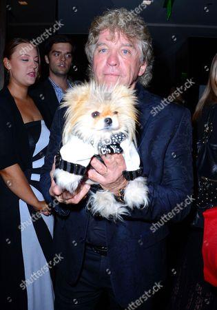 Stock Picture of Ken Vanderpump and dog Giggy