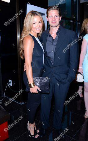 Stock Image of Jessica Hall and Kyle Carlson