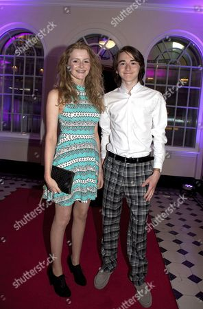 Stock Picture of Aimee Richardson and Isaac Hempstead-Wright