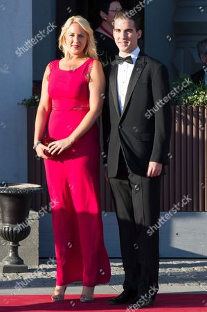Princess Theodora of Greece and Denmark and Prince Philippos