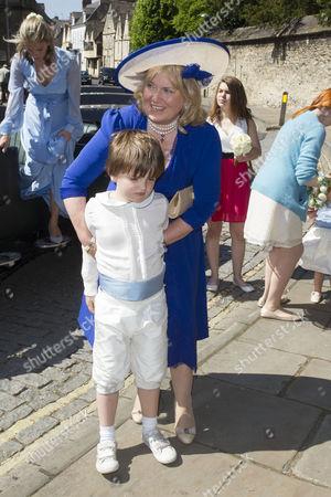 Editorial image of Lady Natasha Rufus Isaacs and Rupert Finch wedding, Cirencester, Britain - 08 Jun 2013