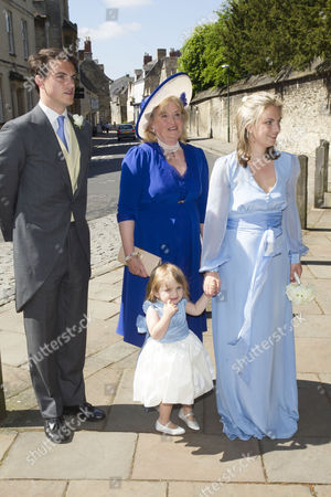 Editorial picture of Lady Natasha Rufus Isaacs and Rupert Finch wedding, Cirencester, Britain - 08 Jun 2013