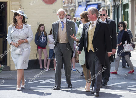 Stock Picture of Countess Bathurst, Prince Michael of Kent and Earl Bathurst