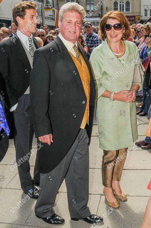 Earl Bathurst and guest
