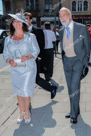 Stock Picture of Countess Bathurst and Prince Michael of Kent