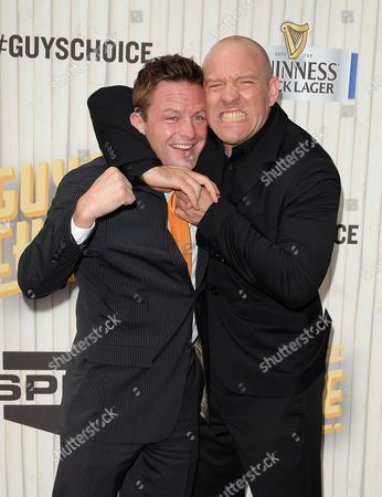 Stock Image of Joe Warren and Bjorn Rebney