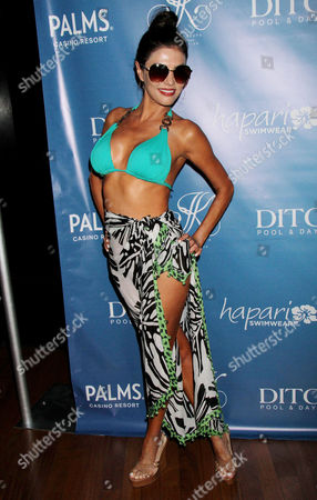 Editorial picture of Joanna Krupa signature bikini range launch, Las Vegas, America - 08 Jun 2013