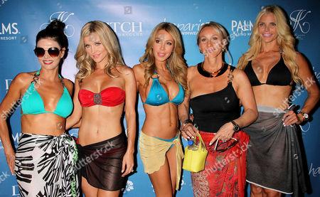 Stock Photo of Adriana DeMoura, Joanna Krupa, Lisa Hochstein, Lea Black, Alexia Echevarria