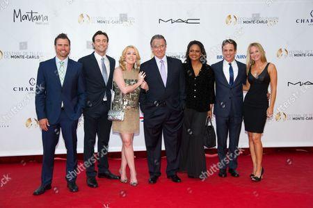 Daniel Goddard, Melody Thomas Scott, Tonya Lee Williams, Christian LeBlanc and Sharon Case