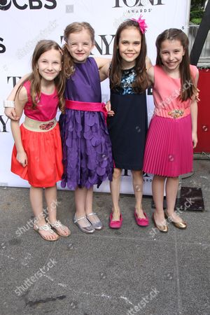 Bailey Ryan, Milly Shapiro, Sophia Gennusa and Oona Laurence