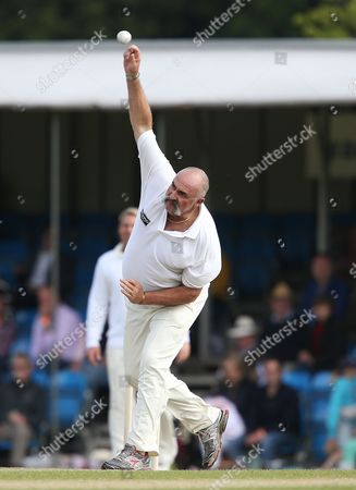 Editorial photo of 'Cricket for Kids' Charity Match Australia v England, Cirencester Cricket Club, Gloucestershire, Britain - 09 Jun 2013