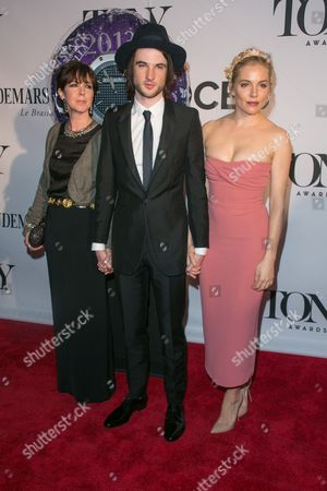 Phoebe Nicholls, Tom Sturridge and Sienna Miller