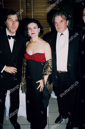 Bryan Ferry, Paloma Picasso and David Bailey
