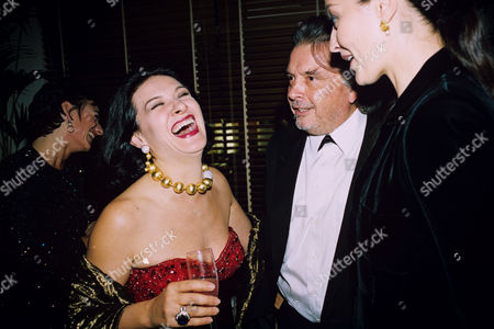 Paloma Picasso and David Bailey