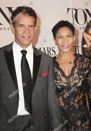 Brian Stokes Mitchell and wife Allyson Tucker