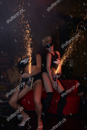 CHELSEA FERGUSON MAKES A SPECIAL APPEARANCE AT SPEARMINT RHINO TO CELEBRATE LADBIBLES 1ST BIRTHDAY MESSY FUN PROVIDED THE SPEARMINT RHINO DANCERS AND UK MUDWRESTLE 12.30AM JUNE 7 2013 SPEARMINT RHINO TOTTENHAM COURT ROAD LONDON COPY RIGHT ROB CABLE / CABLEIMAGE ALL USAGE MUST CREDIT - ROB CABLE NEW CONTACT DETAILS BELOW FOR FURTHER IMAGES & PRICING CONTACT: Email:            ROB@CABLEIMAGE.COM Telephone:   UK 44 (0) 7525 070502 CIA CABLEIMAGE AGENCY 39 BROOKSIDE SANDHURST BERKSHIRE GU47 9AP