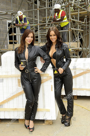 Kacey Barnfield and Rosie Jones
