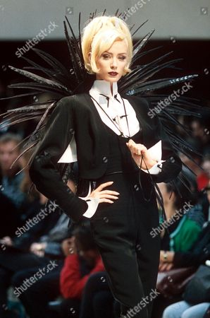 Editorial picture of Spring and Summer Fashion Shows, Paris, France  - Oct 1996