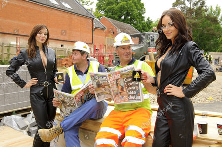 Editorial image of 'Builders' Tea photocall - 10 Jun 2013