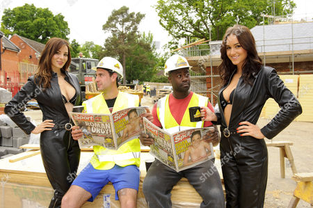 Editorial picture of 'Builders' Tea photocall - 10 Jun 2013