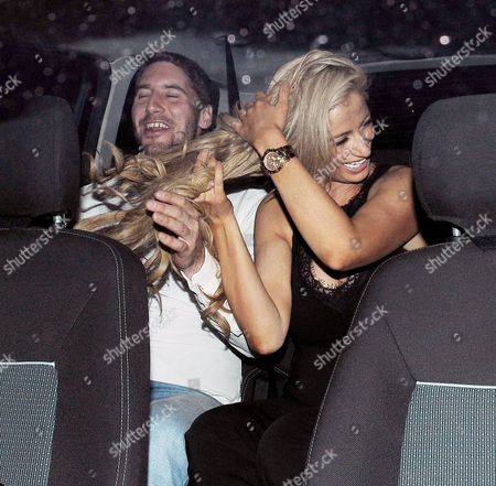 Stock Image of Nick Hogg and Chantelle Houghton