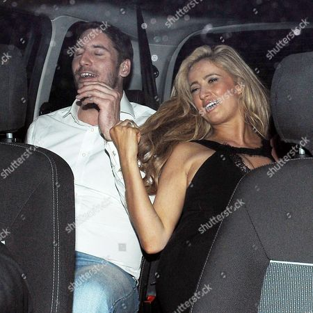 Stock Photo of Nick Hogg and Chantelle Houghton