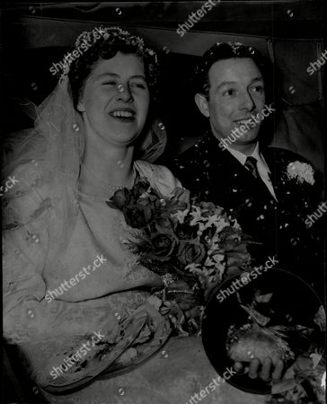 Wedding Of Mr Harry Parker And Miss Christine Starton At Holy Trinity Church Southall.