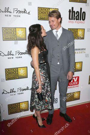 Abigail Spencer and Andrew Pruett